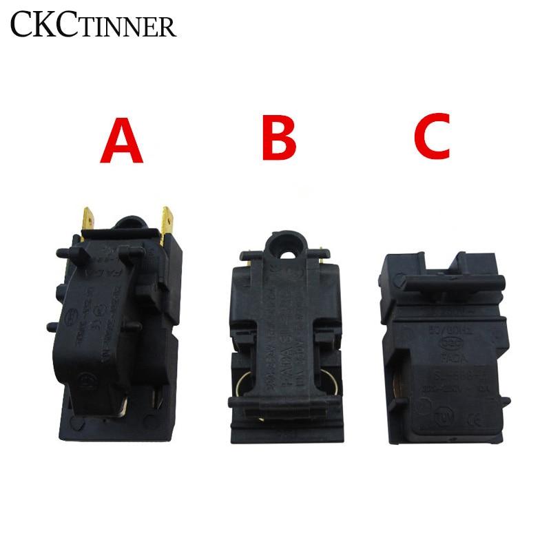 Interrupteur à thermostat électrique TM-XD-3-100 V 13a, 1 pièce, unité de bouilloire à vapeur électrique pour transfert direct