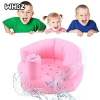 new multifunctional baby inflatable sofa childrens puf portable bath chair pvc inflatable seat baby feeding chair