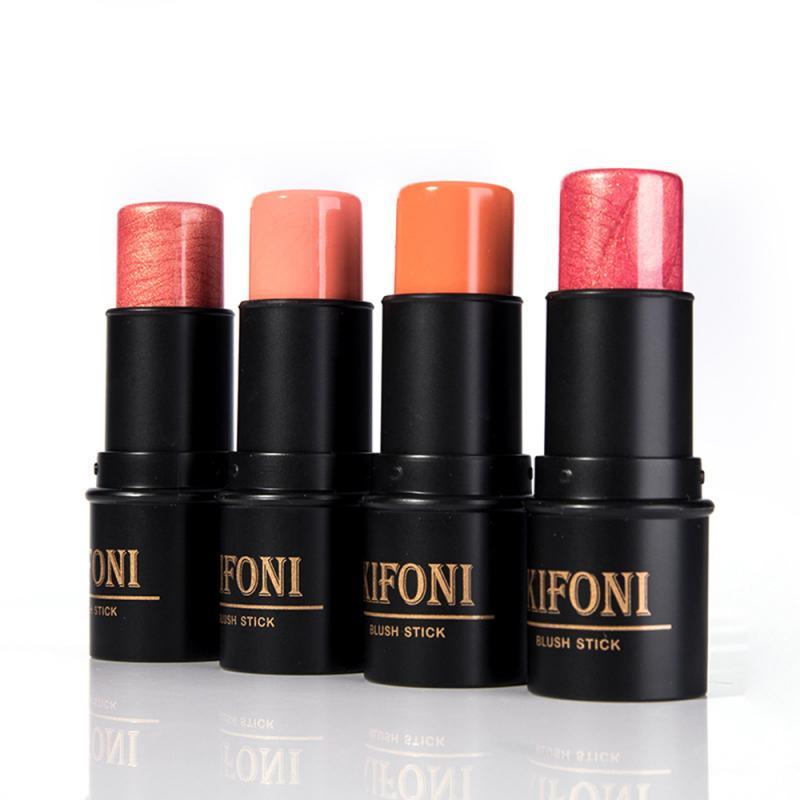 KIFONI colorete en barra duradero maquillaje con rubor maquilaje rubor maquiagem colorete Ruddy maquillaje melocotón TSLM1