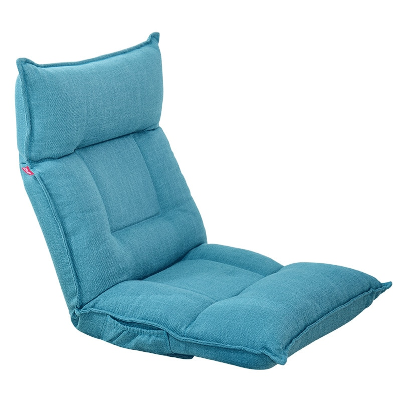 Sofá tumbona Tatami plegable individual, pequeño, para dormitorio, ordenador, balcón, sillón de...