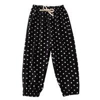 Летние штаны в горошек #5