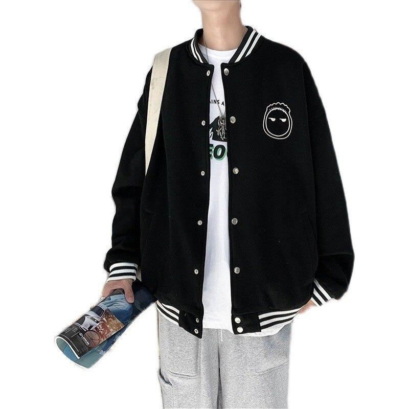 Весенняя куртка мужская корейская мода большая Повседневная крутая куртка