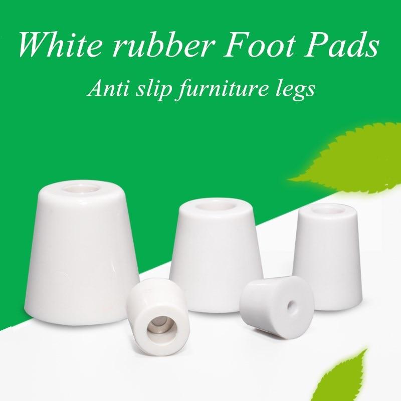 aliexpress.com - 8Pcs white Rubber Feet Non-slip Furniture Feet Chair Floor Protector Table Leg Cover Cabinet Bottom Pads Funiture Legs