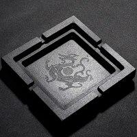 luxury desktop indoor ashtray kit set office smoking accessories decorative trays vassoio decorativo boyfriend gifts ea6yhg