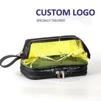 female profession makeup case fashion beautician cosmetics organizer storage box nail tool suitcase for women make up bag