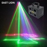Lampes Laser de fete  couleurs rvb  4 lignes de lentilles  Krypton Dj Bar Disco systeme de cinema a domicile ensemble  livraison rapide