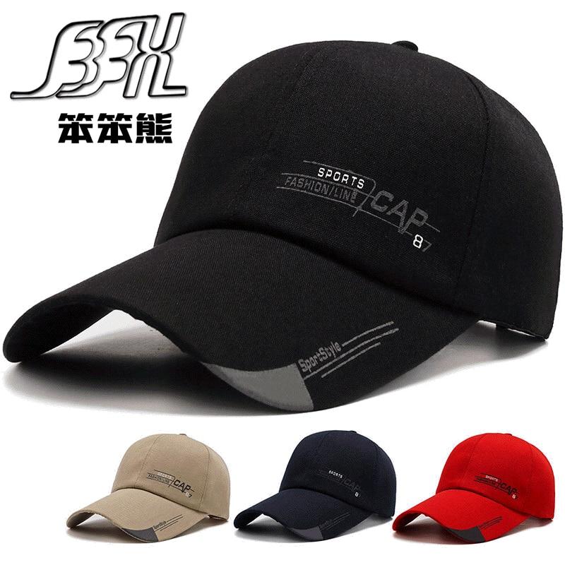 Мужская кепка с текстильным принтом, Ретро Кепка, Корейская Кепка для занятий спортом на открытом воздухе, солнцезащитная Кепка с длинными ...