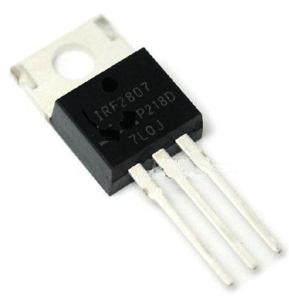 10 unidades IRF2807 IRF2807PBF MOSFET N 75V 82A a-220 nueva entrega inmediata original