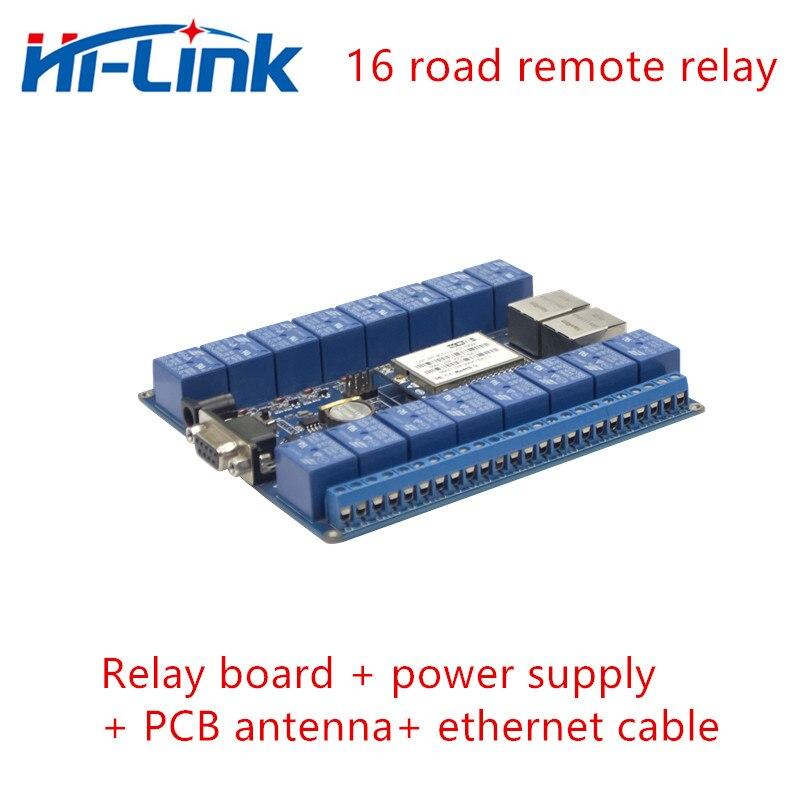 Envío Gratis, 16 canales, LAN WAN WiFi, controlador de tablero de relé, módulo de relé WiFi inalámbrico, control remoto, interruptor de relé de hogar inteligente