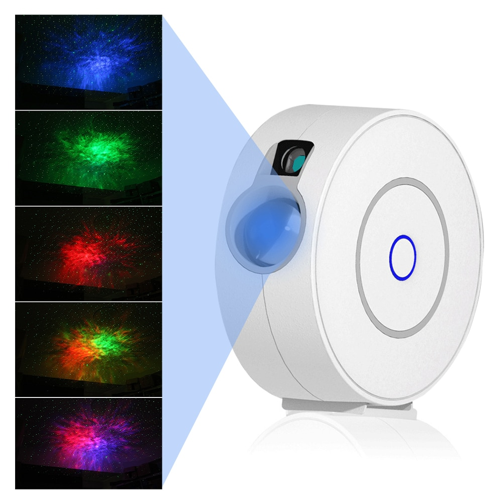 5W LED Starry Star Sky Projector EU Plug Colorful Night Light with Remote Control for Family Cinema Bar Birthday Party UK/EU/US enlarge