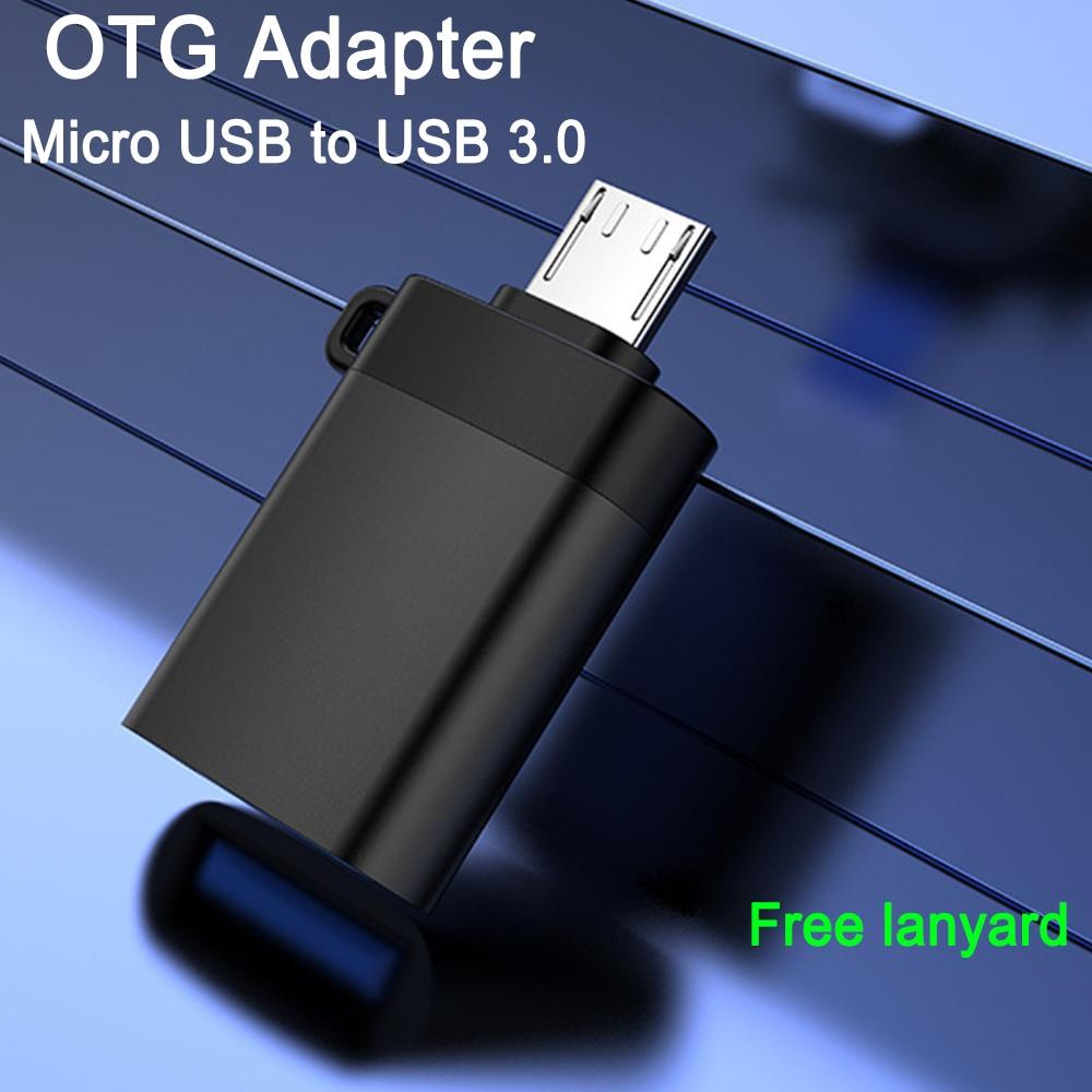 Adaptador Microusb OTG a USB 3,0, convertidor de Cable OTG, datos 30,...