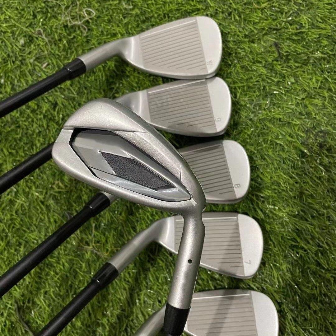 New G425 golf clubs 425 irons men's golf equipment golf high fault tolerance long distance irons 5-W with ball head cover