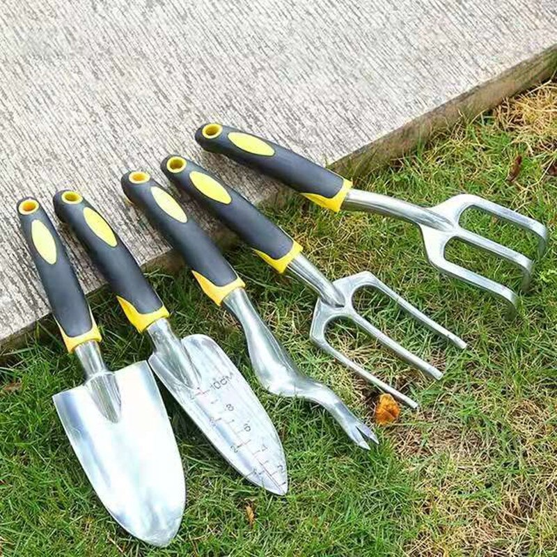 Garden Tool Set Stainless Steel Tool Set Planting Tools Weeding Fork Trowel Soil Scoop Cultivator with Low Price High Quality