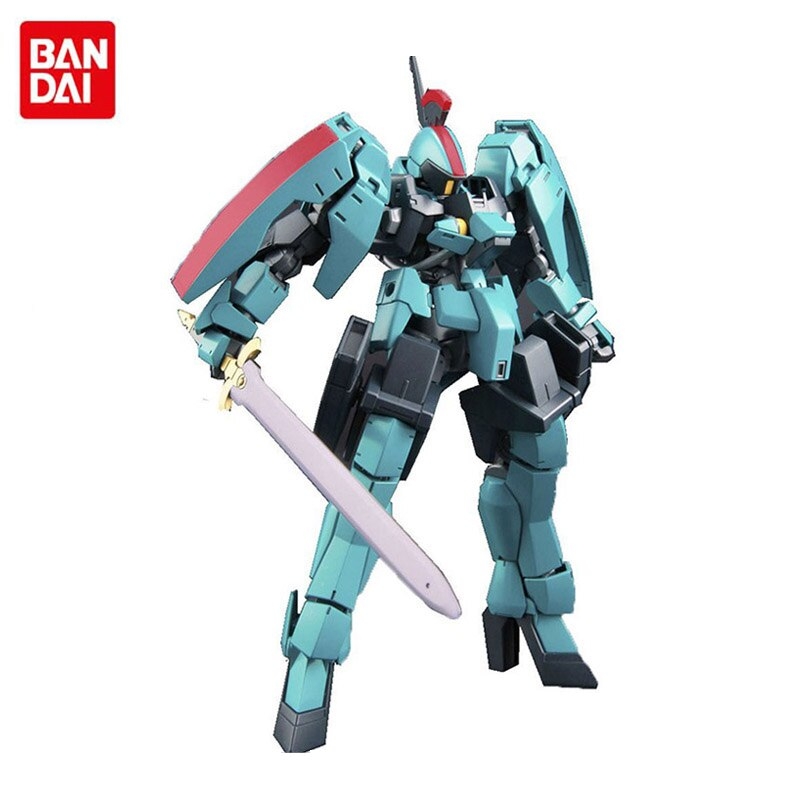 Bandai anime modelo de montagem gundam hg 1/144 ferro-sangue órfãos pastar ritter figura de ação robô decoração brinquedo das crianças presente