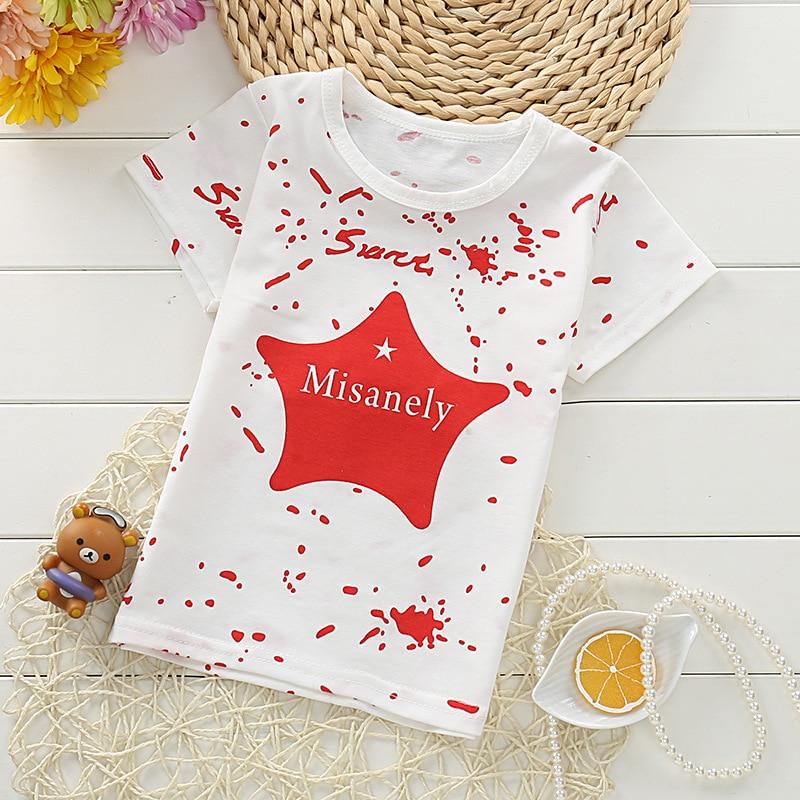Hot sale baby boy clothes t-shirt new summer boys cartoon star t shirt quality cotton short sleeve boy tshirt unisex girls tops