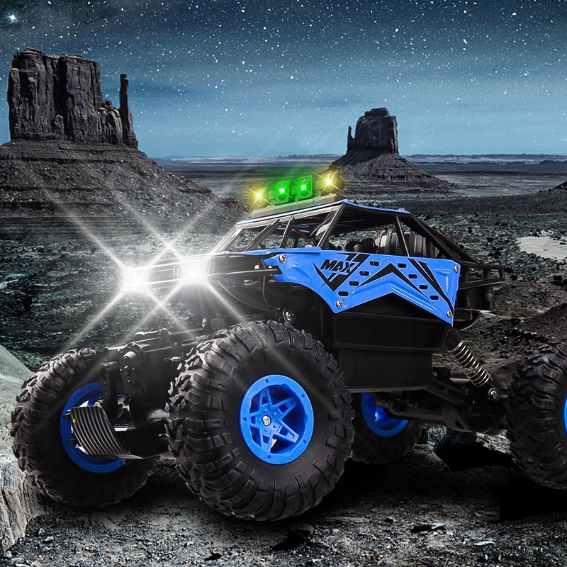 2.4Ghz RC Climbing Cars Toy Model For Kid Boys 1:14 4WD Rc Spray Light Remote Control Off-Road Vehicle Car Toys Children Gift enlarge