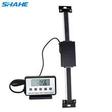Shahe 0-150/200/300mm uzaktan dijital lineer ölçek masa okuma ölçeği Bridgeport Mill için torna doğrusal cetvel ile LCD tabanı