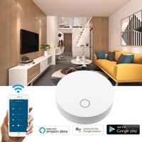 Telecommande sans fil dapplication de vie intelligente de pont de maison intelligente de WiFi Stable de Hub de Tuya ZigBee de vie intelligente pour lassistant a la maison dalexa Google