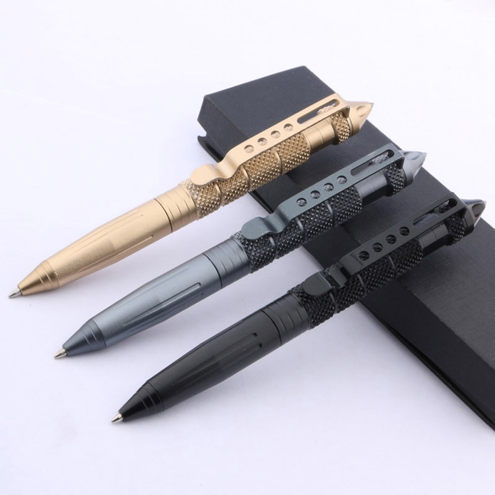 Brand New Self Defense Personal Safety Protective Stinger Weapons Tactical Pen Tool ball point pen Office Supplies