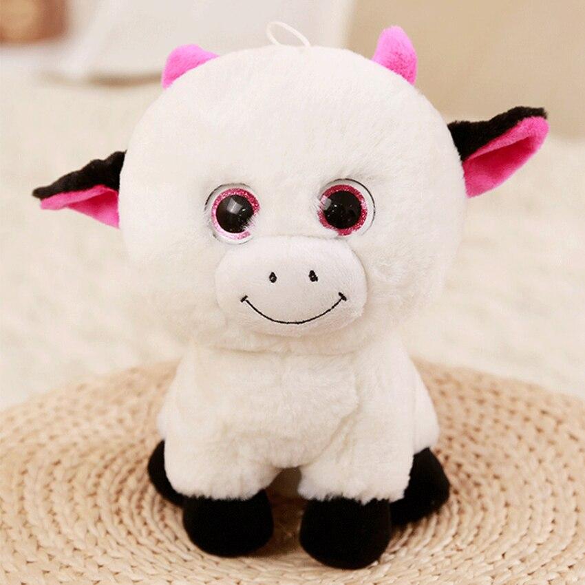 Kawaii husky Plush baby Toys Stuffed Soft animal Doll Rabbit antelope bull plush toy Room decoration for Baby Toys