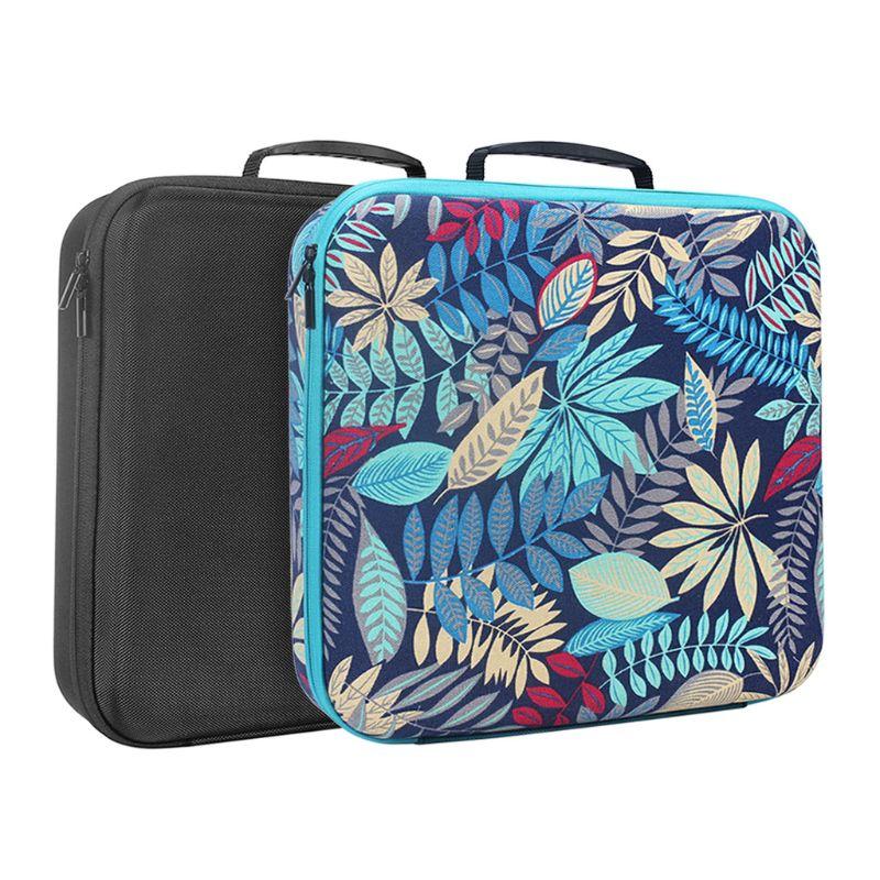 Bolsa de almacenamiento para transporte de viaje, bolsa dura para rizador de pelo completo