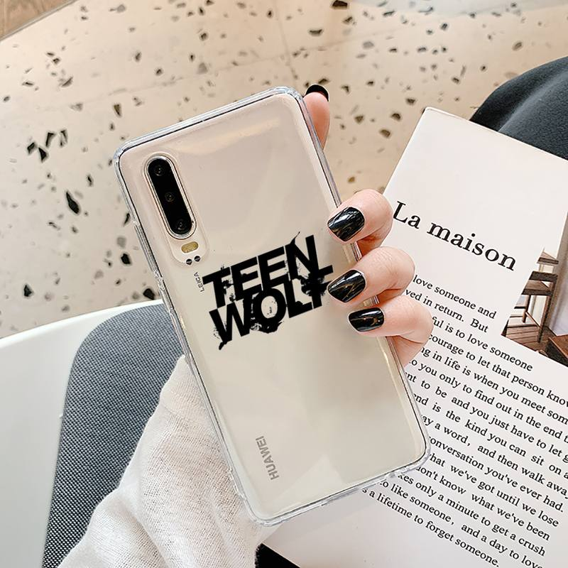 Teen Wolf Stilinski 24 Phone Case Transparent for Samsung A71 S9 10 20 HUAWEI p30 40 honor 10i 8x xiaomi note 8 Pro 10t 11