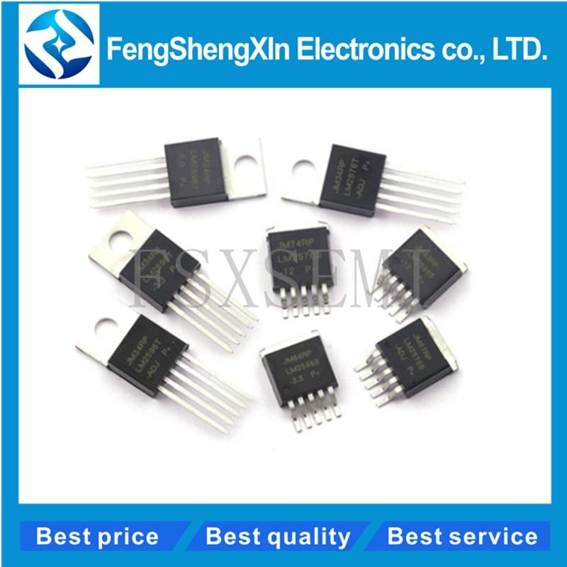 10 unids/lote LM2596S-5.0 ADJ 12 3,3 V LM2576 LM2596T a-220 a-263 LM2596T-ADJ/3,3/5,0/12 convertidor de potencia