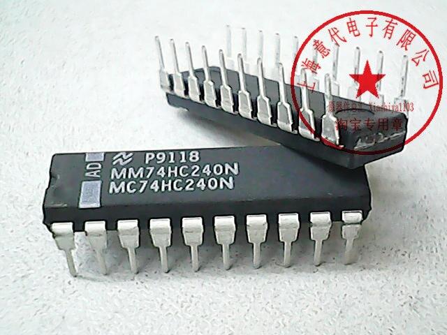 MM74HC240N 74HC240
