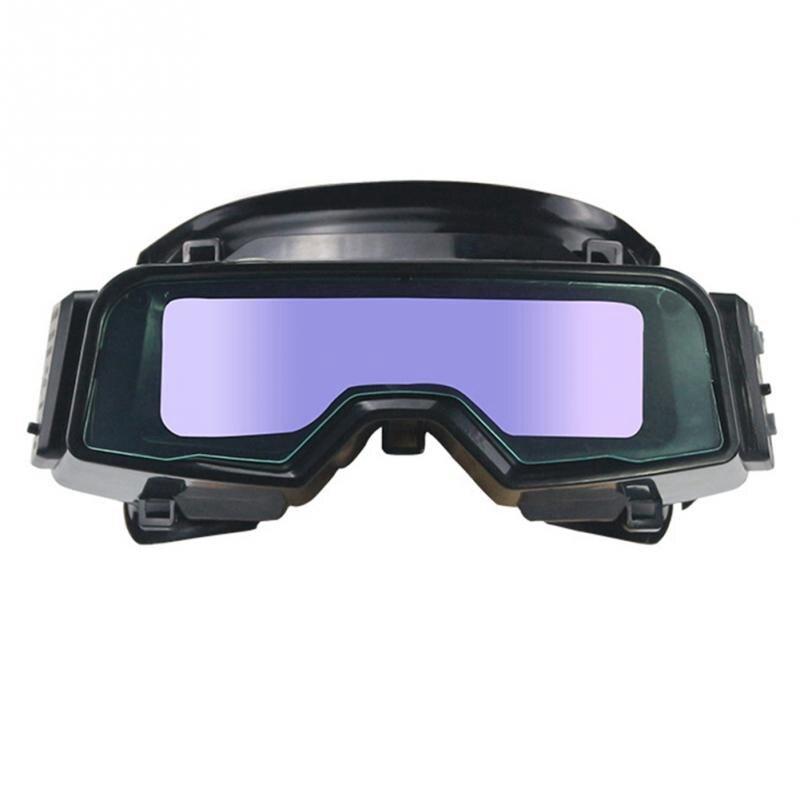 Óculos de Proteção para os Olhos da Correia Ajustável à Prova de Riscos do Escurecimento Automático da Soldadura