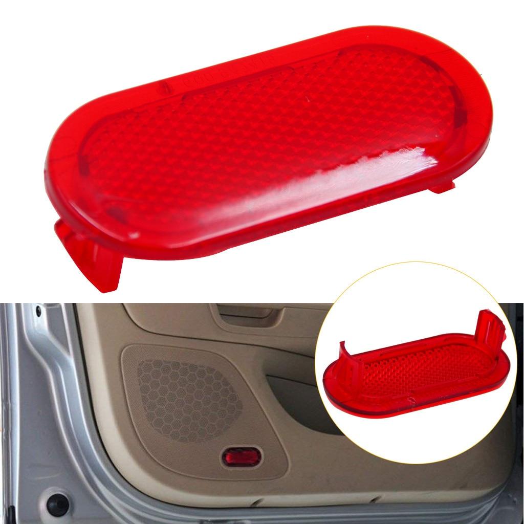 Reflector de luz de advertencia de puerta roja 6Q0947419 Reflector de luz de advertencia para VW Beetle 2012-2016 Caddy 2004-2015 Touran