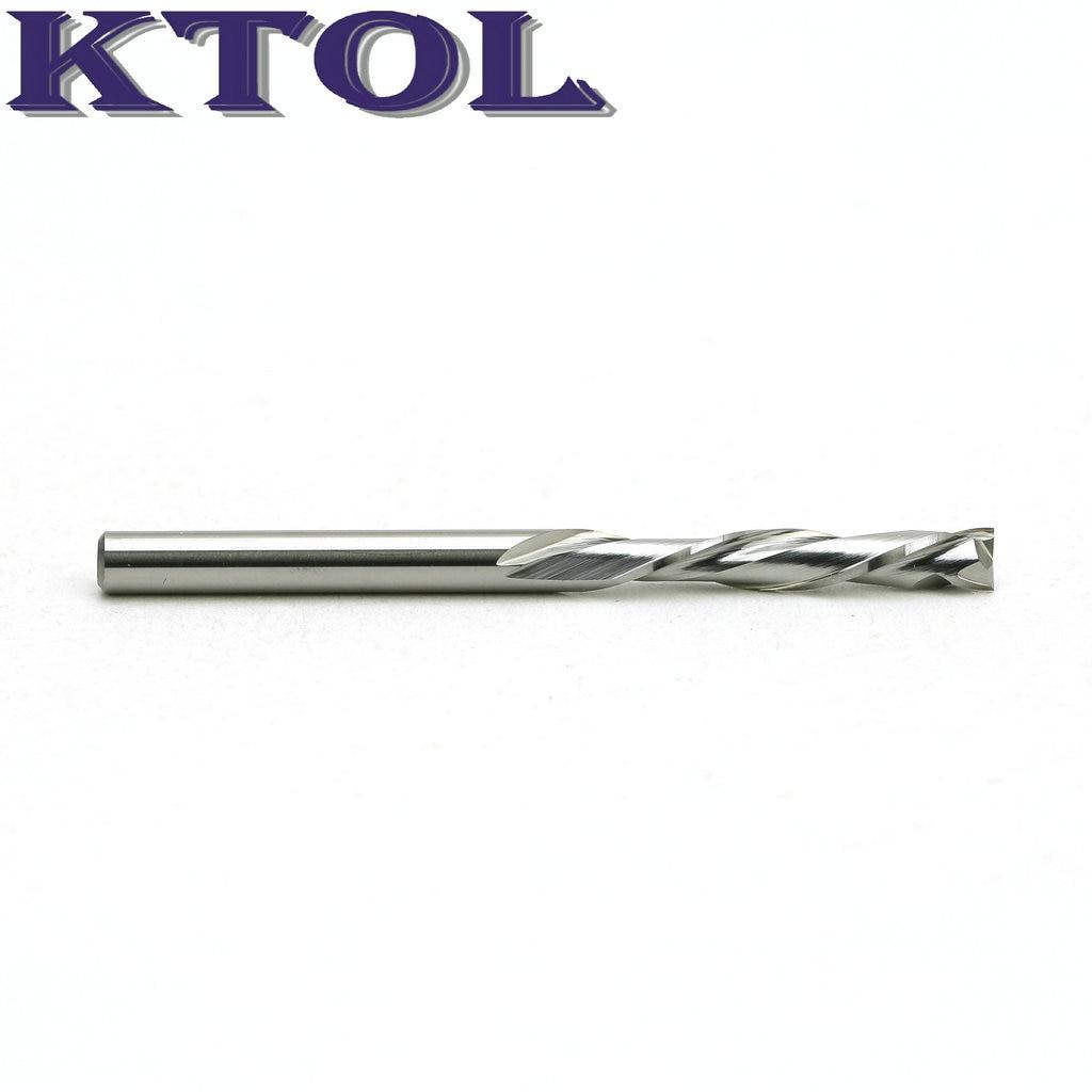 Carboneto de Tungstênio Cortador de Madeira Rápido Down Corte 3.175x15mm – 2 Flauta Fresa Router Bits Top Metal Duro Ferramentas up &