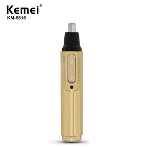 Kemei Nose Hair Trimmer Electric Professional Electric Rechargeable Ear Nose Hair Trimmer Fashion Safe Face Care Man and Woman