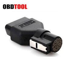 OBD2 16PIN В комплект поставки входит адаптер для GM TECH2 диагностический инструмент 16 PIN OBDIIAdaptor 16PIN розетка для подключения к 19Pin разъем для Авто диагностический сканер