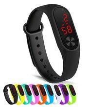 Simple women watch Hand Ring Watch Led Sports Fashion Electronic Watch Reloj deportivo para mujer dr