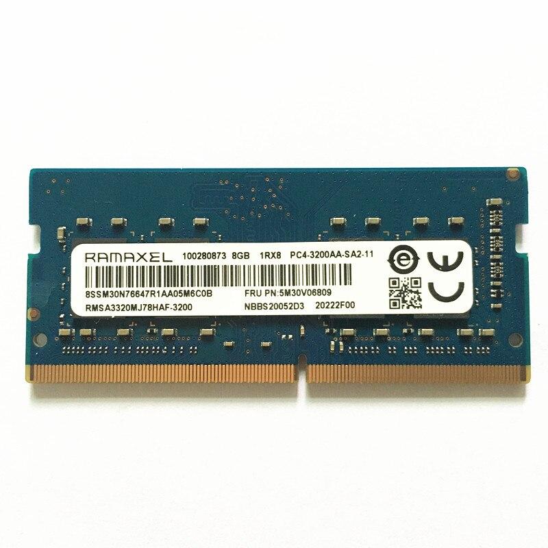 RAMAXEL DDR4 8GB 3200 RAM 8GB 1RX8 PC4-3200A-SA2-11 ddr4 3200mhz 8gb كمبيوتر محمول الذاكرة