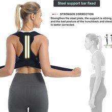 Men&Women Posture Corrector Back Support Belt Clavicle Spine Lumbar Brace Corset Posture Correction