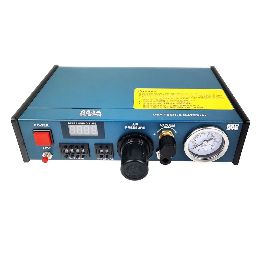 983A Glue Dispenser machine Liquid Semi Automatic Dispensing 983A 220V Auto Glue Dispenser 983A Dispensing system