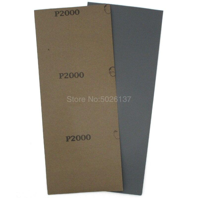 1 stks 93x230mm Lange Vierkante Schuurpapier Nat Droog Schuurpapier - Schurende gereedschappen - Foto 3