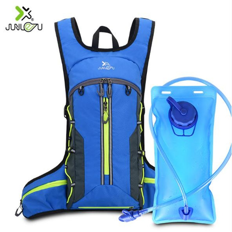 Running Backpack  JUNLETU 2020 Nylon Sports Marathon Bag Outdoor Hiking Bag 2L Water Bag Foldable