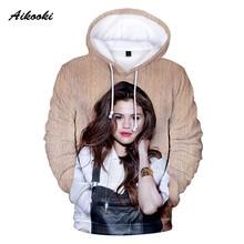 3D Selena Gomez Hoodies Sweatshirts2020 Men Women Hoody Sweatshirt Mens Hooded Selena Gomez Boy/Girls Cool Polluvers Coats top