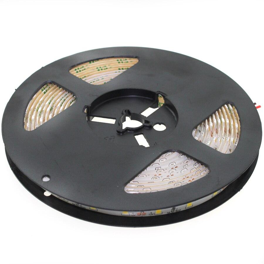 DC 12V RGB LED Strip Light RGB Waterproof Diode Tape 5M 10M 15M 20M 2835 RGB LED Strip Ribbon DC 12V Adapter IR Led Remote Set