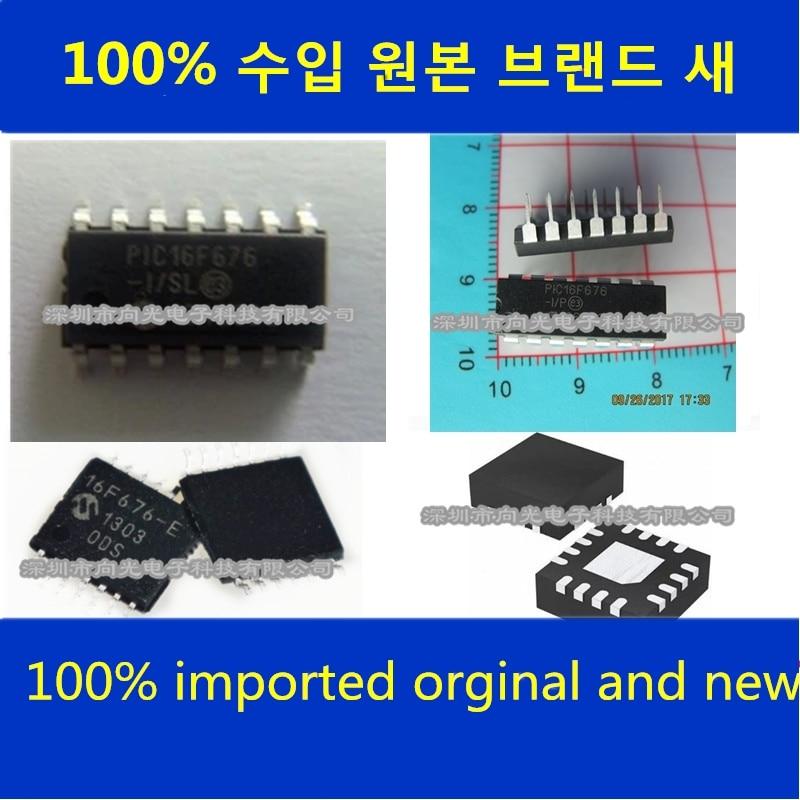 10 قطعة 100% الجديدة المستوردة والأصلي في المخزون PIC16F676-I/SL PIC16F676-I/ST PIC16F676-I/P IC
