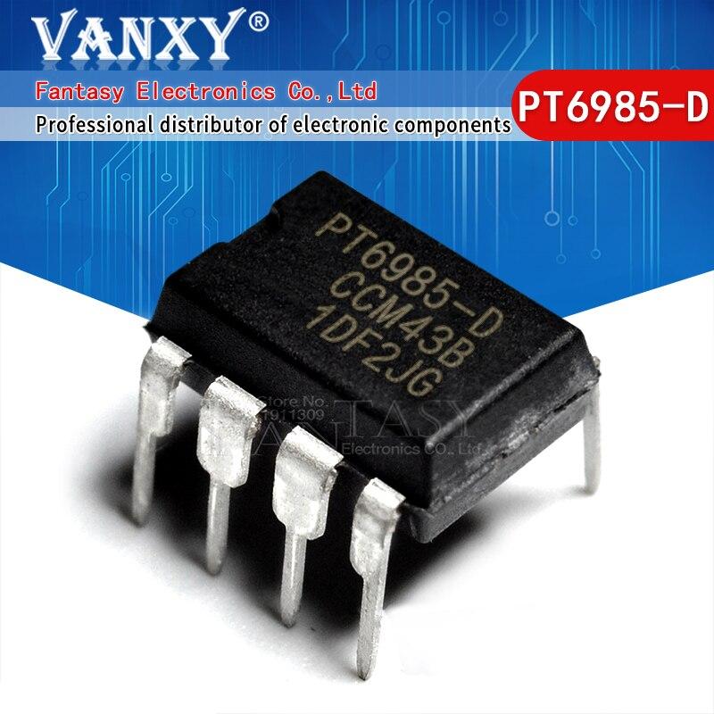 5pcs PT6985-D DIP8 PT6985 DIP8 DIP optoacoplador