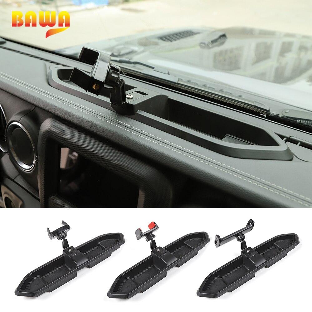 BAWA Multi-function Stand Bracket for Jeep Wrangler JL 2018+ Mobile Phone Holder for Jeep Wrangler JL Car Interoir Parts
