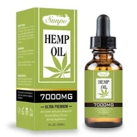 30ml Organic Essential Oil Hemp Seed Oil Herbal Drops Body Relieve Stress Oil Skin Care Help Sleep Relief The Pain