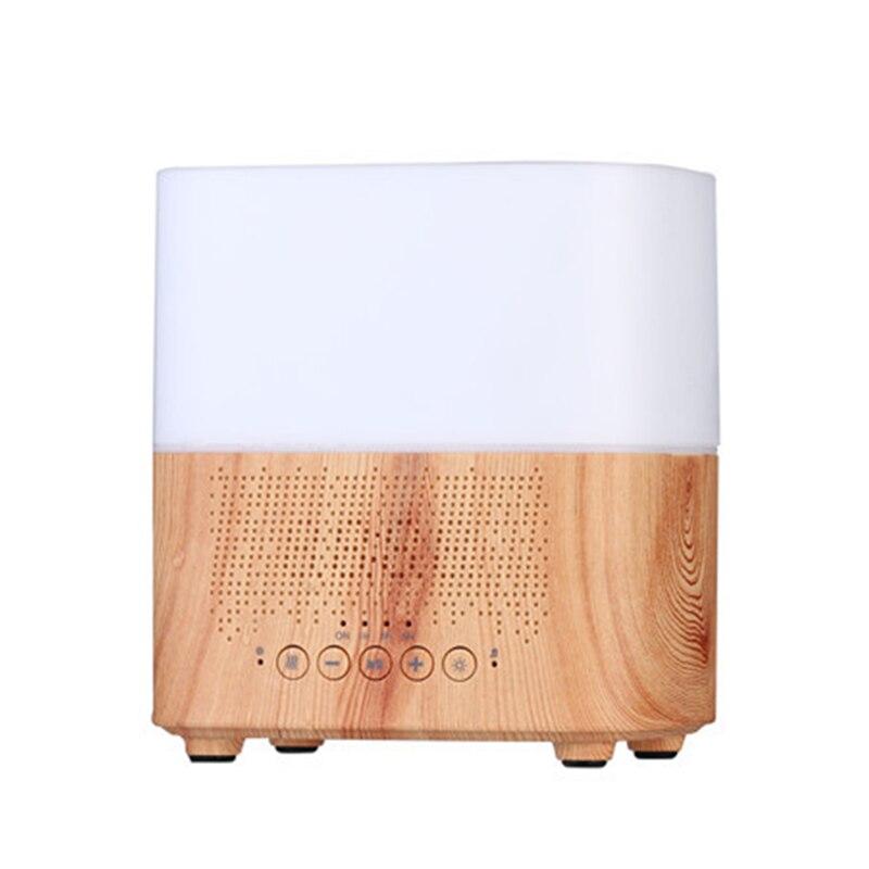 Ofertas superiores 300 ml multifuncional bluetooth aroma difusor de óleo com despertador aromaterapia umidificador ar ultra-sônico para o quarto ho