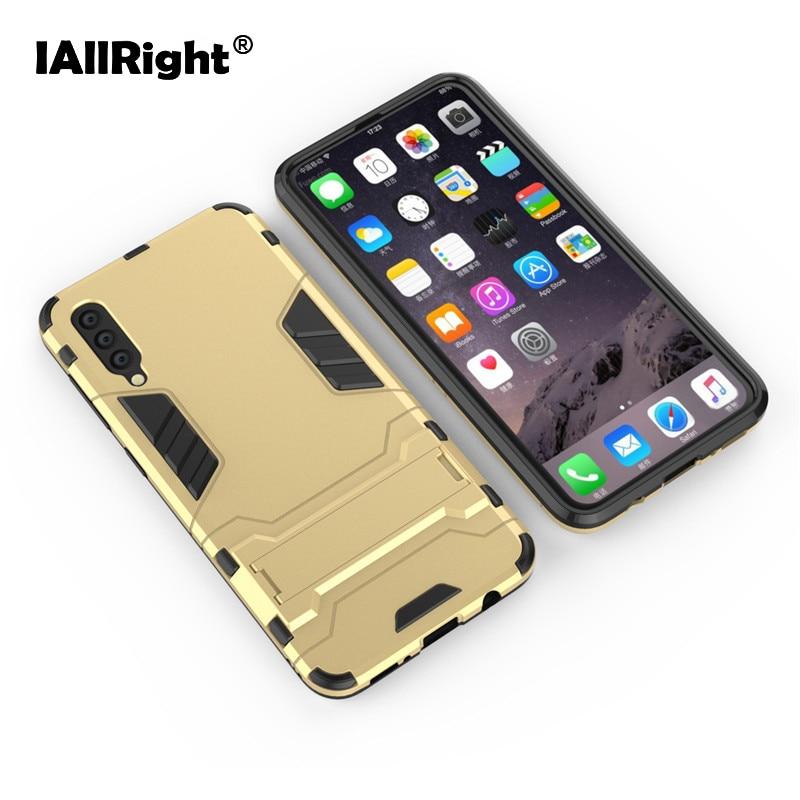 IAllRight Super armadura diseño cubierta trasera de PC duro funda para Samsung Galaxy A50 teléfono maletines Coque Anti-knock Fundas