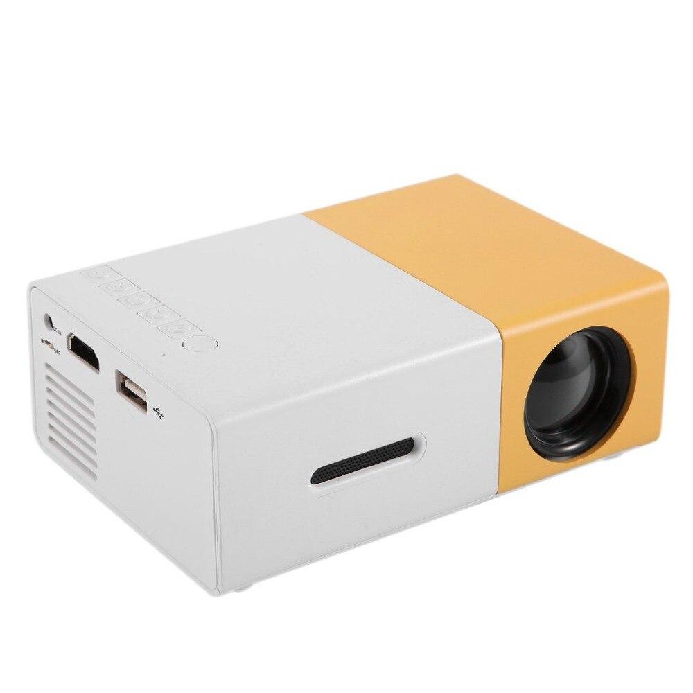 Led Mini Projector Hoge Resolutie Ultra Draagbare Hd 1080P Hdmi-Compatibel Usb Projector Media Player Home Theater Beamer
