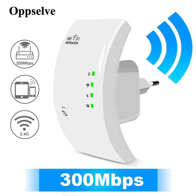 Network WiFi Repeater Wireless Wi Fi Repetidor Internet Amplifier Wi-Fi Signal Range Extender Access Point Wi-Fi Signal Booster