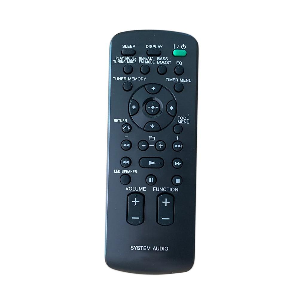New Original Remote Control RM-AMU137 For SONY RDH-GTK33iP RDHGTK33iP RDH-GTK11iP RDHGTK11iP Home Audio Docking System